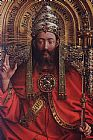 Jan van Eyck The Ghent Altarpiece God Almighty [detail] painting